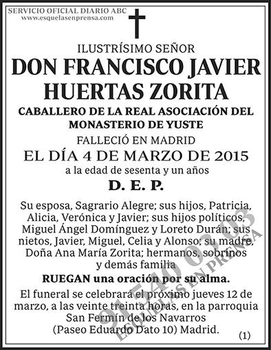 Francisco Javier Huertas Zorita